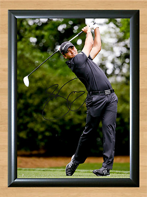 Jason Day Golf Masters Ryder Cup Open Signed Autographed A4 Photo Print ball hat