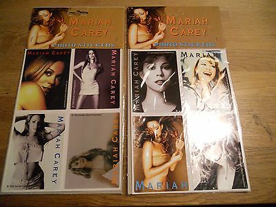 Mariah Carey 8 Mint & New Stickers Out Of Print Rare See