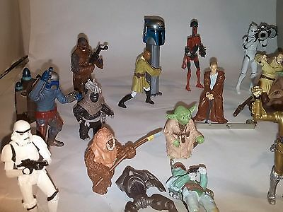 Star Wars action figure lot of toys
