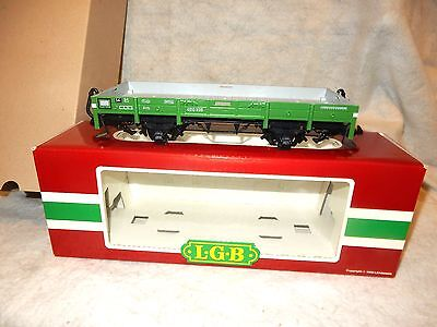 LGB #4010  four wheel European short side gondola car - G gauge - New w orig box