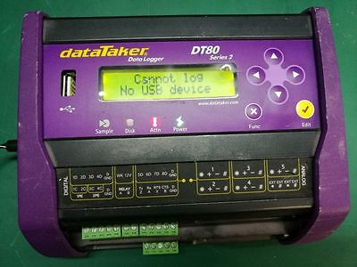 DataTaker DT80 Series 2 Intelligent Data Logger with  In-Built Web Server