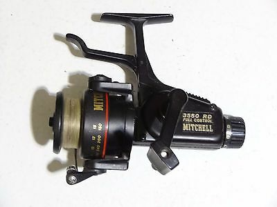 Moulinet ancien Mitchell 3550 RD Full Control (carrete mulinello reel bambou )