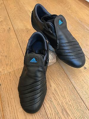 Adidas Martial Arts Training Shoes UK Size 9 Black.