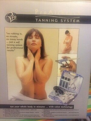 Too Pro Airbrush Tanning System. New