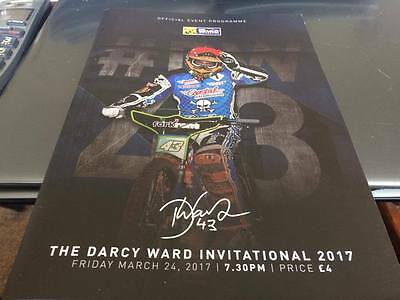 Poole Pirates--Darcy Ward Invitational-Speedway Programme--24Th March 2017