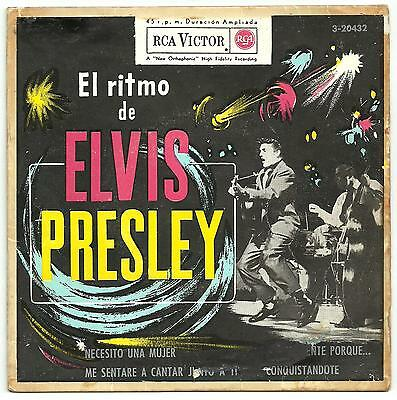 El ritmo Elvis Presley RARE original EP from Spain.