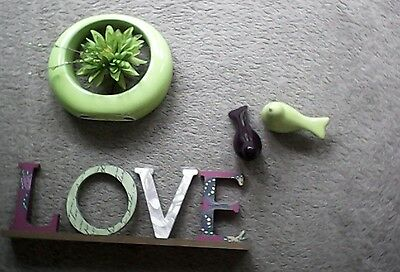 next home set of 3 ornaments decorative items collection only Redditch