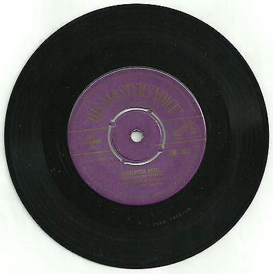 RARE Elvis Presley UK HMV Heartbreak Hotel 45 single from the 1950s.