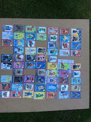 Sainsburys lego create the world Trading  cards x139 cards no Doubles