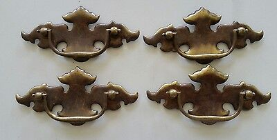 Set Of 4 Old,vintage 3 Inch Center To Center Drawer Pulls Handles (902)
