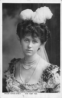 Postcard   Actresses    Ruby   Ray