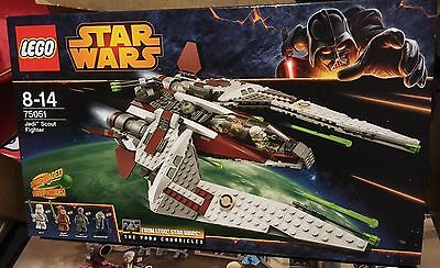 Star Wars Lego 75051 Jedi Scout Fighter B-Stock Brand New Sealed