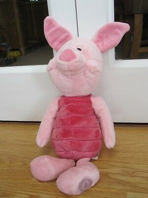 "Large 16"" Piglet Disney Store Plush Winnie The Pooh Soft Toy Figure"