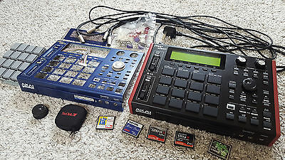 Akai MPC 1000 - Black Customized, upgraded pads and pad sensors