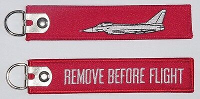 Schlüsselanhänger Eurofighter Typhoon - Remove Before Flight .......R1054