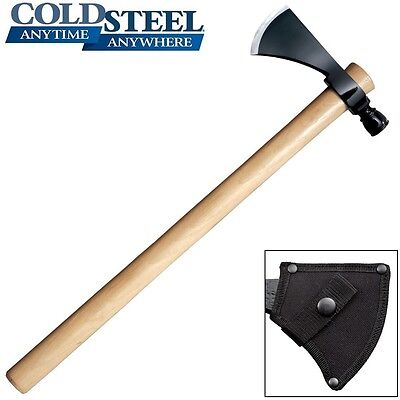 Cold Steel - PIPE HAWK Tomahawk Throwing Axe With Sheath 90PHH New