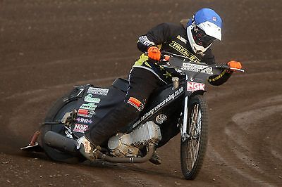 King's Lynn Stars--Nathan Greaves(Guest)-2017-----10X8----Speedway-Action Photo