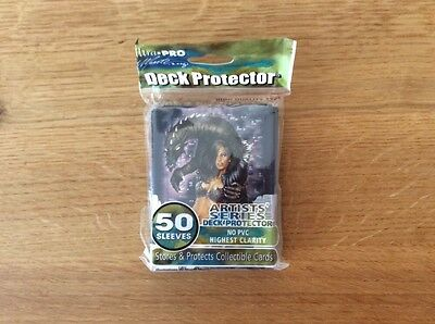 Deck Protector, Ultra Pro Artists Series, Dragon And Lady Design, 50 Sleeves