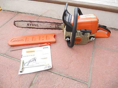 """Genuine Stihl Ms250 Chainsaw 18"""" Bar, Very Good Used Condition! Look!"""