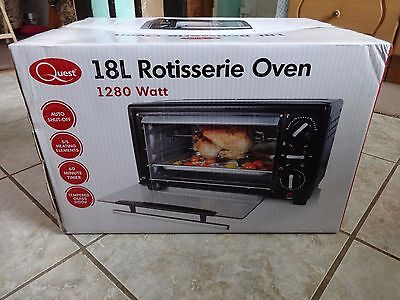 18L Rotisserie Oven 1280 Watt New Unused