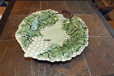 Jay Willfred shallow bowl, Grapes & Leaves, made in Portugal, Andrea by Sadek.