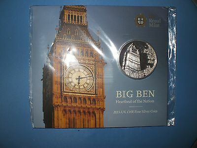 Big Ben £100 Silver Proof Coin