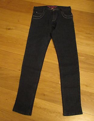 New - Girl`s Bluezoo Jeans - Navy - Age 14