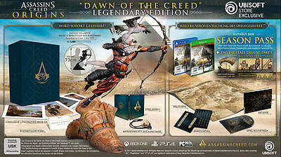 ASSASSIN'S CREED ORIGINS Dawn of the Creed Edition Legendary CE Neu Xbox ONE