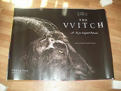 The Witch Cinema Quad Poster full size ORIGINAL Anya Taylor Joy