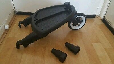 Bugaboo wheeled board with adapters fits cameleon, frog, gecko