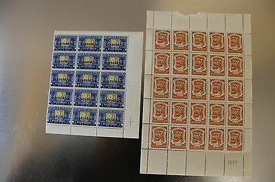 Scadta Colombia Lote 20 ctvos 1921---20 ctvos on 1 peso 1934.