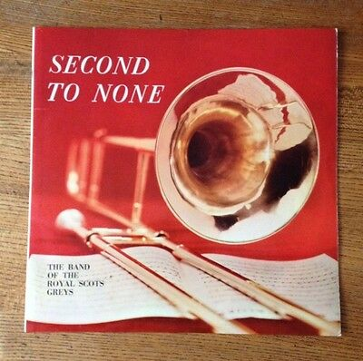 Second To None - The Band Of The Royal Scots Original Stereo Vinyl LP
