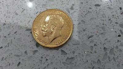 Full Gold Sovereign Dated 1911