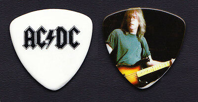 AC/DC Cliff Williams Photo Bass Guitar Pick - 2009 Black Ice Tour