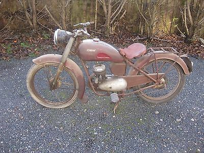 moto de collection ULTIMA LYON 1951