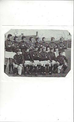 York City Team Picture Autographed 1971/72