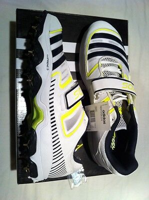 ADIDAS MENS CRICKET SHOE SPIKES UK 13 New And Boxed