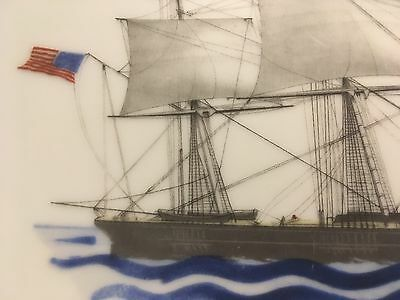 "Mottahedeh Our Maritime Heritage U.S. Clipper Ship ""Nightingale"" 9 Inch PLATE"