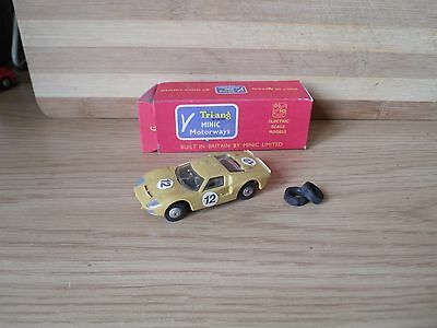 triang minic motorway M1587 ford gt race vehicle
