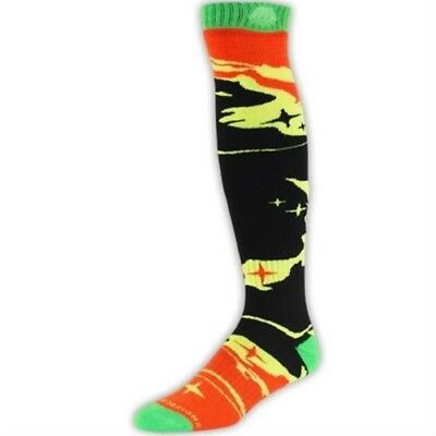 Troy Lee Designs Herren MX Socken - GP Socks Galaxy - schwarz-gelb