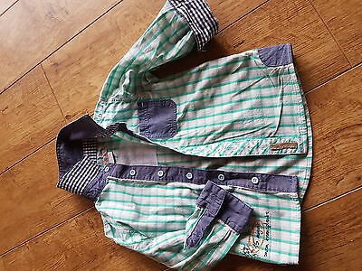 Boys Mamas and Papas Check Shirt Aged 12-18mths