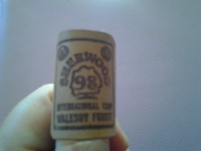1998 Sherwood Walesby Forest BOY SCOUT leather WOGGLE SCOUTING cubs