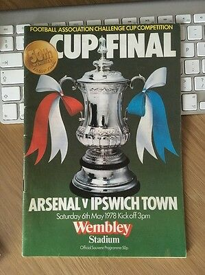 1978 FA Cup Final - Arsenal v Ipswich Town