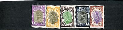 Ethiopia: lot of 11 stamps. SCV: $7.40.  see description.