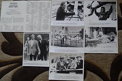 A View to a Kill.( James Bond ). Roger Moore. UK.Press Lobby Cards.