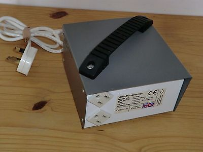 Tacima USA To UK Step Down Transformer  - 240/120V Max Load 1000VA 1000W