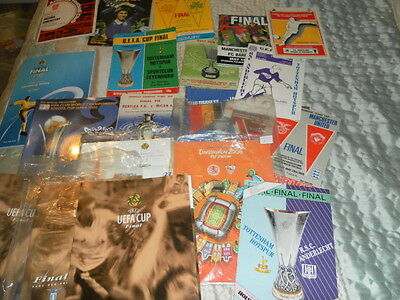 European Champions League Uefa Cup Winners Cup Finals - Choose From List +Extras