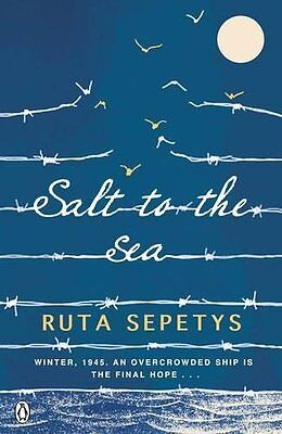 Salt to the Sea by Ruta Sepetys Paperback Book New