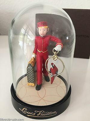 Louis Vuitton Porter Bell Boy snow globe The Groom Neu mit Box