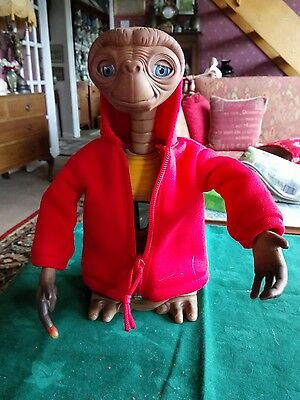 E. T. The Extra-Terrestrial Interactive Toy Made By Tiger Electronics 2000 V.g.c
